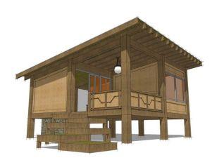 Hunting Cabin House Plans Design
