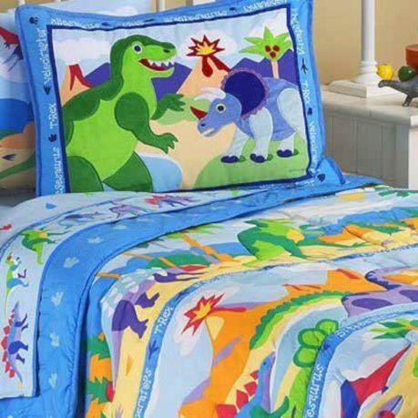 Kids Dinosaur Bedding