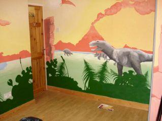 Kids Dinosaur Bedroom Ideas