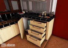 Kitchen Set Minimalis Elegant