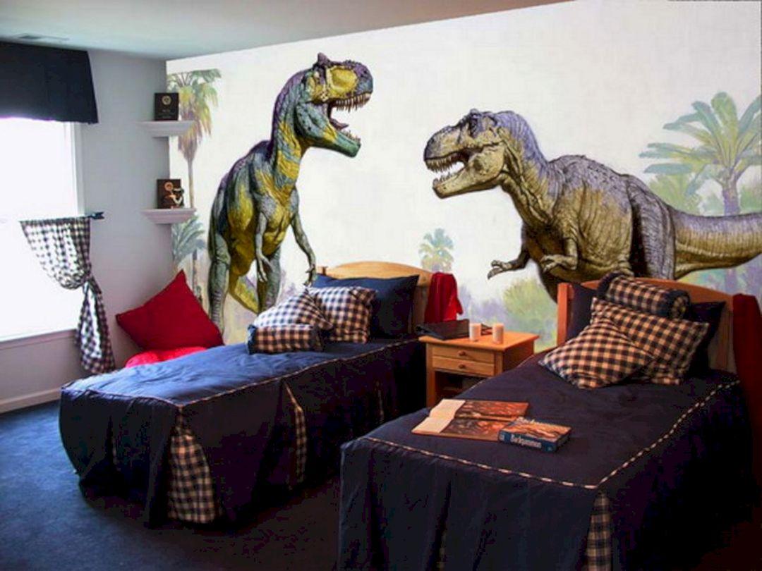 Little Boy Dinosaur Bedroom Ideas – DECOREDO