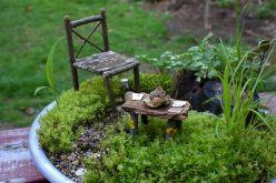 Make Fairy Garden Furnitures