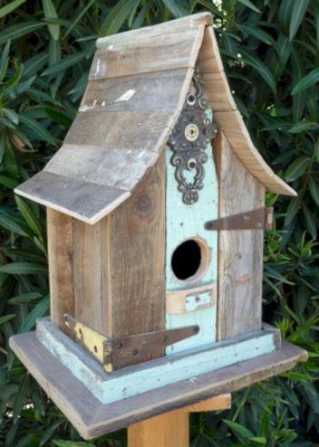 Most Popular Birdhouses Rustic in Your Garden 14