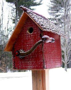 Most Popular Birdhouses Rustic in Your Garden 21