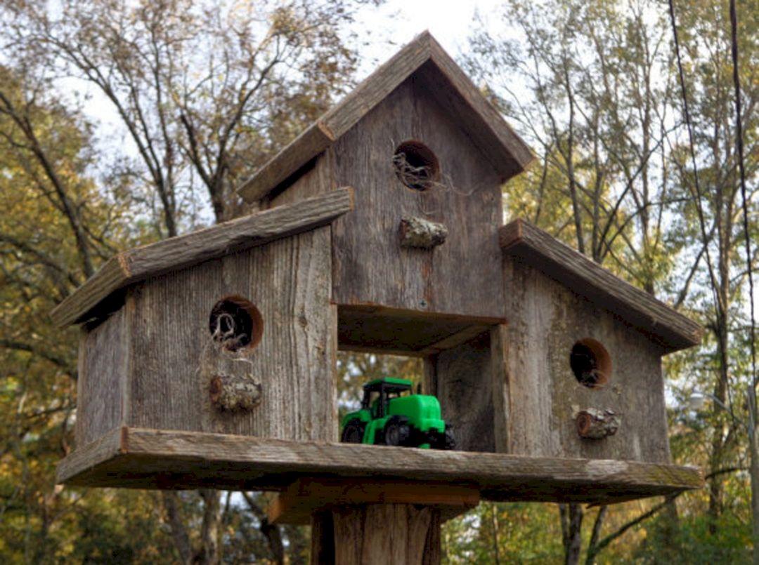Incredible Birdhouses Garden Ideas