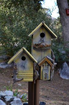 Most Popular Birdhouses Rustic in Your Garden 4