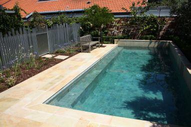 Natural Stone Pool Tile