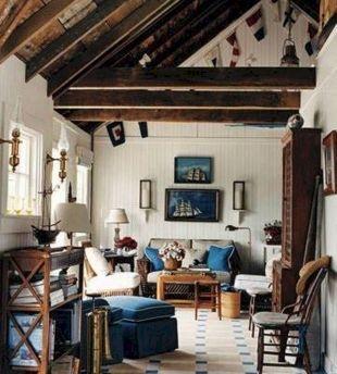 Nautical Living Room Decor