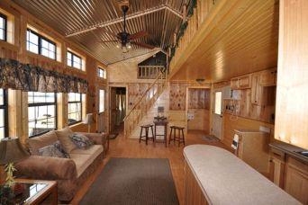 Portable Hunting Cabin Interior