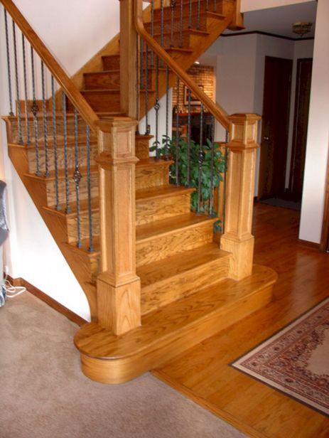 Red Oak Stairway
