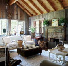 Rustic Cottage Living Room Ideas