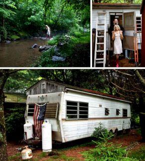 Rustic Hunting Cabin Interiors