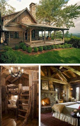 Rustic Log Cabin Living