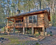 Small Log Cabin Interior Design Ideas
