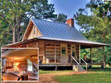 Small Rustic Log Cabins