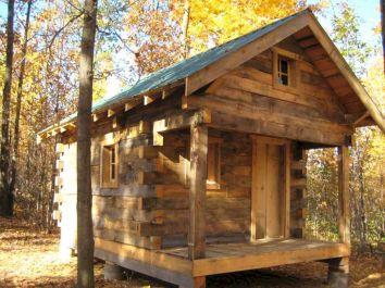 Small Rustics Log Cabins Plan