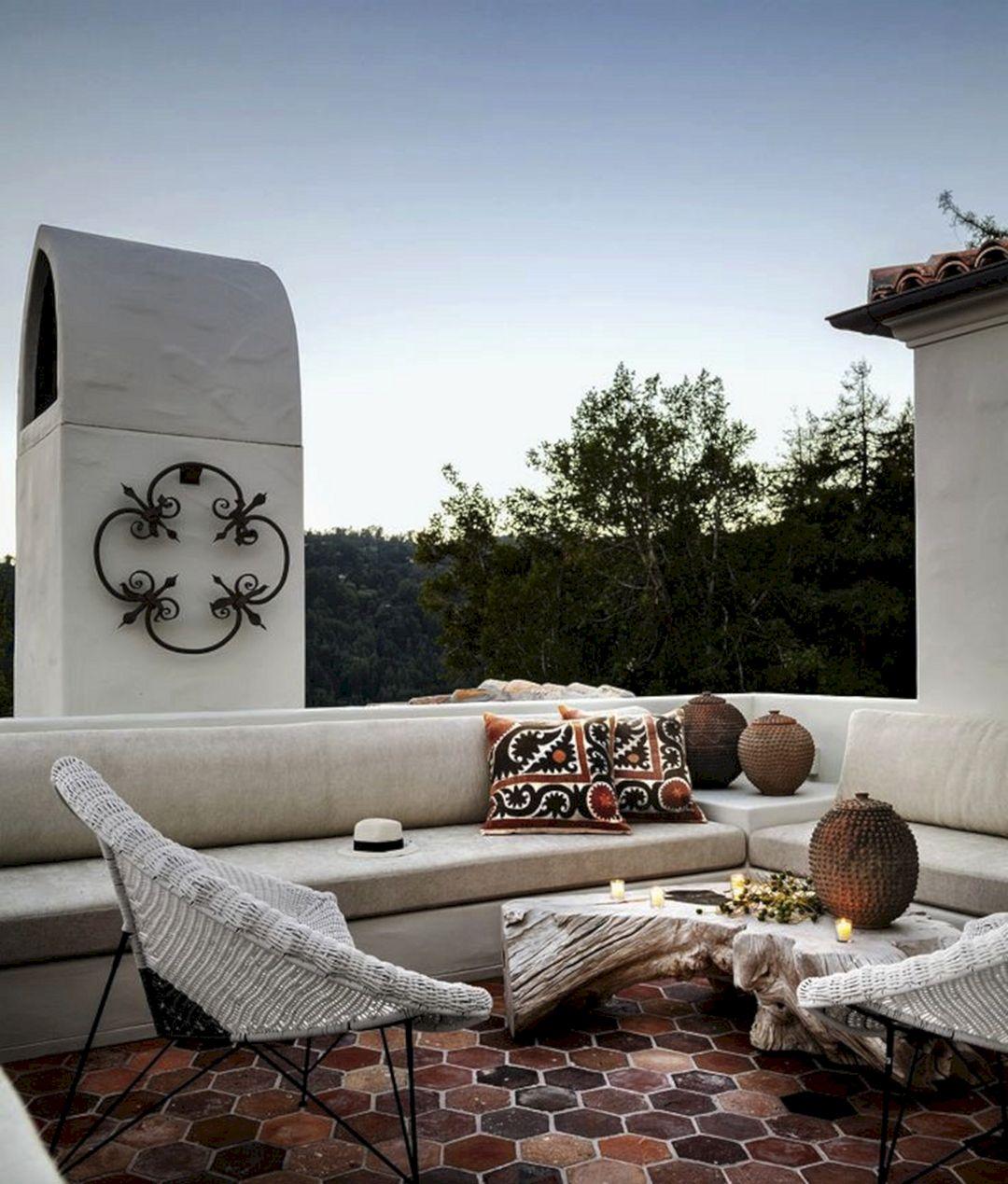 Spanish Outdoor Bedroom Furniture Design Ideas