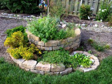 Spiral Herb Garden Design