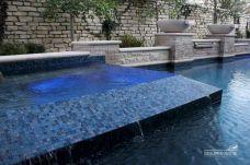 Swimming Glass Pool Tile