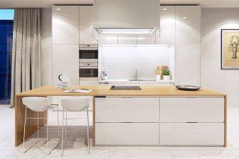 White Wood Kitchen Design Ideas