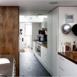 White Wood Kitchen Work Top