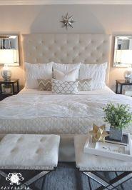 65 The Best Way to Beautify Your Bedroom Headboard 0010