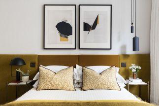 65 The Best Way to Beautify Your Bedroom Headboard 0034