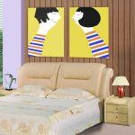 65 The Best Way to Beautify Your Bedroom Headboard 0042