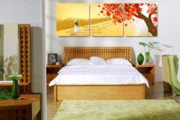 65 The Best Way to Beautify Your Bedroom Headboard 0063