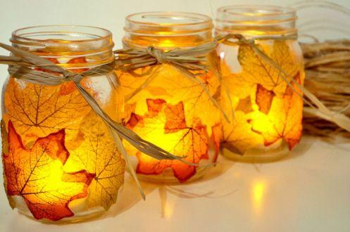 Autumn Leaf Bowl DIY