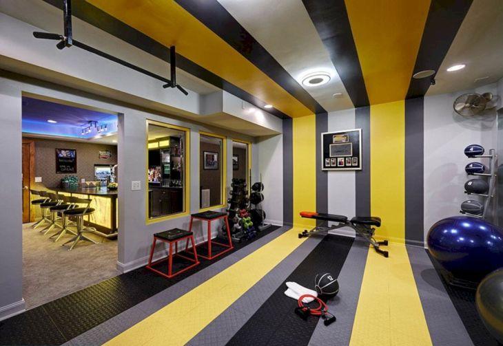 Best Basement Home Gym Ideas