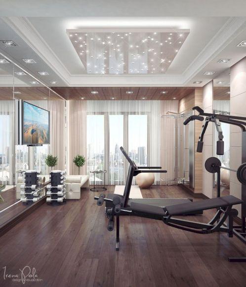 Basement Home Gym 5