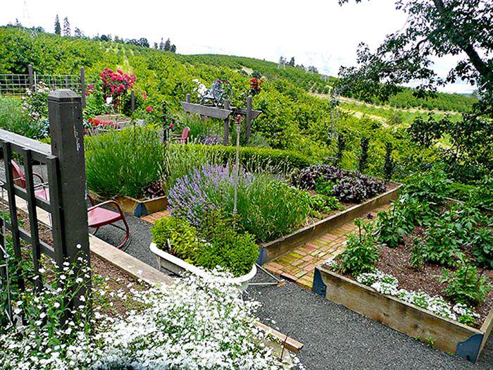 Lovely Best French Potager Garden Design