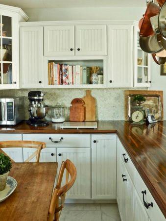 Butcher Block DIY Kitchen Countertop