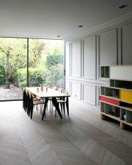 Chevron Pattern Wood Flooring Ideas