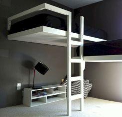 Cozy Bed Loft Ideas For Beloved Twin Kids 131
