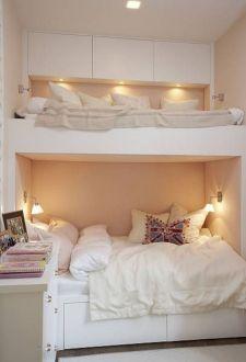 Cozy Bed Loft Ideas For Beloved Twin Kids 161