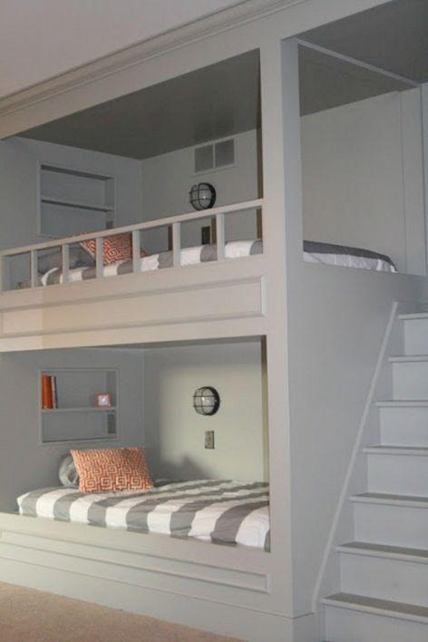 Cozy Bed Loft Ideas For Beloved Twin Kids 171