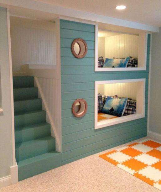 Cozy Bed Loft Ideas For Beloved Twin Kids 221