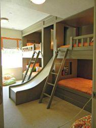 Cozy Bed Loft Ideas For Beloved Twin Kids 281