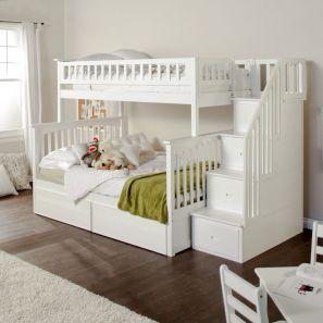 Cozy Bed Loft Ideas For Beloved Twin Kids 31