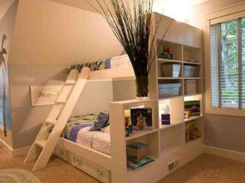 Cozy Bed Loft Ideas For Beloved Twin Kids 341