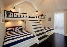 Cozy Bed Loft Ideas For Beloved Twin Kids 351