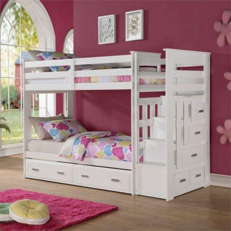Cozy Bed Loft Ideas For Beloved Twin Kids 51