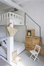 Cozy Bed Loft Ideas For Beloved Twin Kids 71