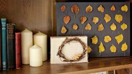DIY Fall Room Decors