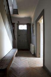 Degree Herringbone Pattern Wood Floor