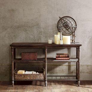 Entryway Table Decor Ideas for Fall 9