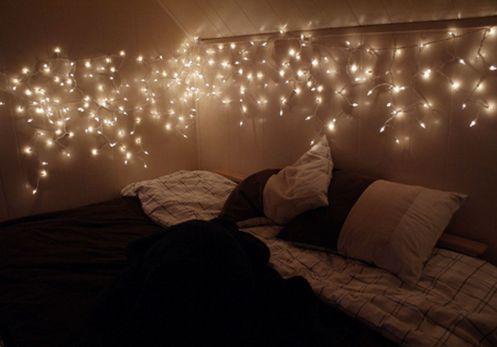 Fairy Lights Bedroom Tumblr