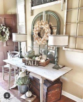 Fall Buffet Table Decorating Ideas 12